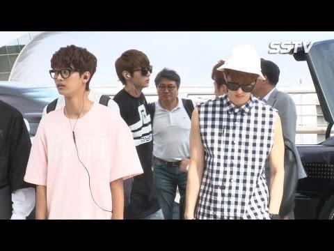 [SSTV] 빅스(VIXX) 출국, 공항 빛내는 6명의 훈남들 '팬여러분 우리 왔어요~'