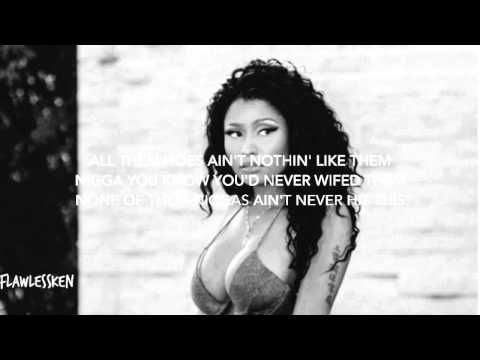 Nicki Minaj - All Eyes On You (Verse - Lyrics Video)