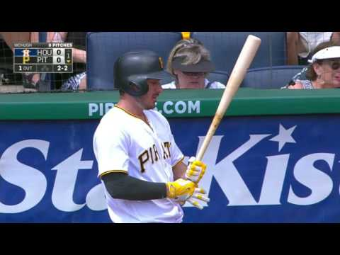 August 24, 2016-Houston Astros vs. Pittsburgh Pirates