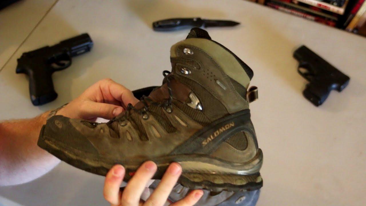 Salomon Quest 4D GTX Hiking Boots Review Bubster47