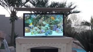 Mirage Vision Outdoor Weather Proof Tv Entertainment Center