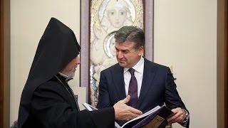 Կարեն Կարապետյանն այցելել է Մոսկվայի առաջնորդանիստ եկեղեցի