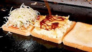 3 Tiered Toast - Korean street food