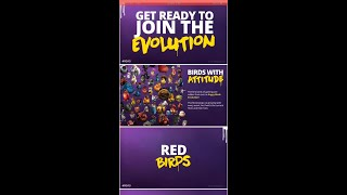 Angry Birds Evolution: Know your Bird