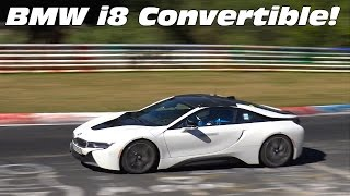 FIRST BMW i8 CONVERTIBLE ON THE ROAD!
