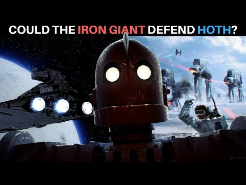 Could the Iron Giant Defend Hoth from the Empire? | Star Wars: Galactic Versus