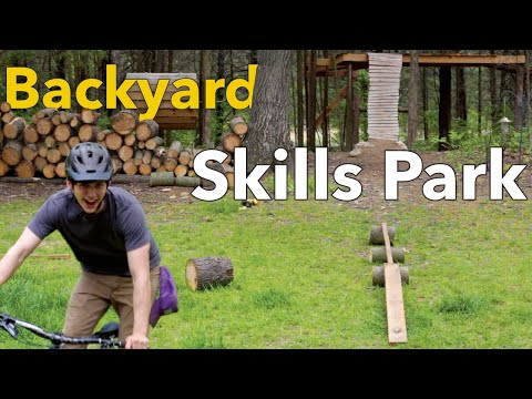 3 MTB Features that turn Your Backyard into a Skills Park