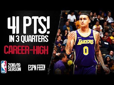 Kyle Kuzma Career-High 41 Points vs Detroit Pistons - Full Highlights 09/01/2019