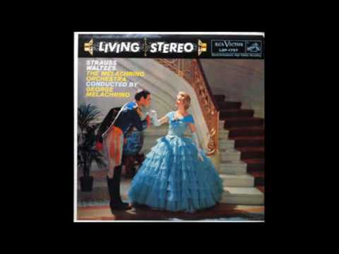 The Melachrino Orchestra, George Melachrino – Strauss Waltzes - 1958 - full video album
