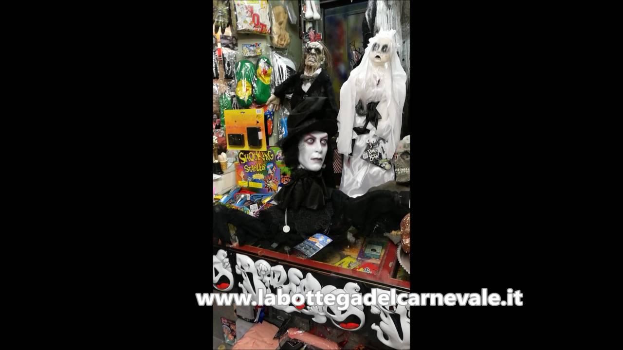 Negozio Storico Articoli Halloween A Milano Youtube