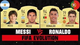 Messi Vs Ronaldo Fifa Evolution 😱🔥| Fifa 07 - Fifa 20