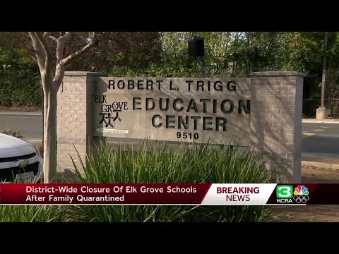 Elk Grove school district cancels classes after coronavirus
