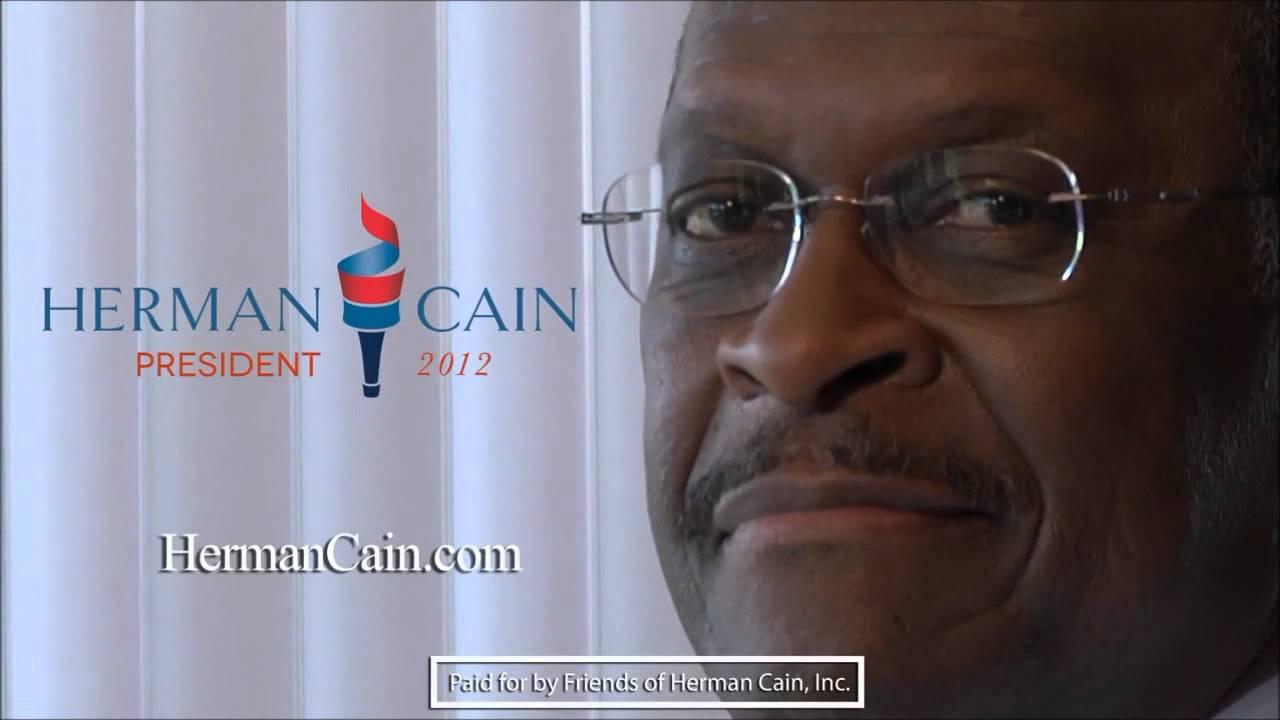 Herman Cain's creepy smile (in HD!) - YouTube