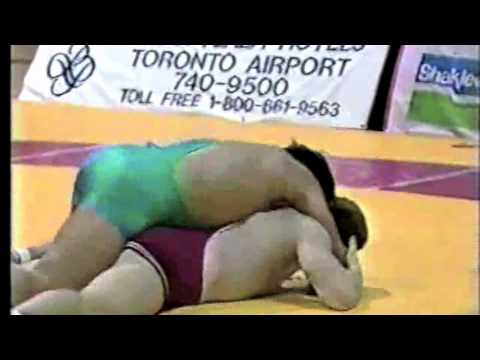 1989 Ontario Espoir Championships: 82 kg Final David Knowles vs. John LeBlanc