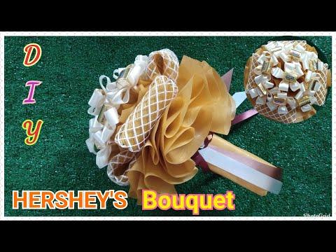diy-chocolate-hershey's-bouquet-/-วิธีทำช่อช็อคโกแลตhershey's