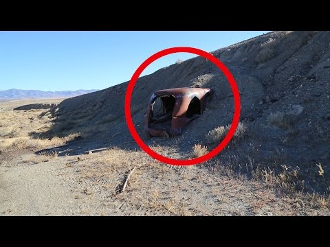 Thumbnail: Why Is This BURIED Out Here? ABANDONED And BURIED In The Middle Of Nowhere Nevada Urban Exploration