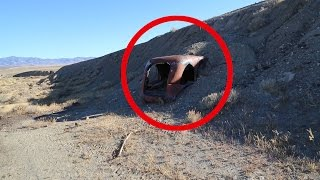 Why Is This BURIED Out Here? ABANDONED And BURIED In The Middle Of Nowhere Nevada Urban Exploration