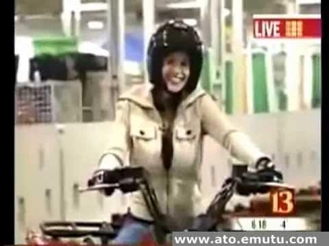 reporter loses control of atv
