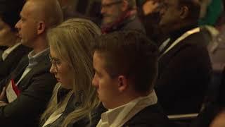 Globitex at the London Forex Show - Jon Matonis & Liza Aizupiete presentation