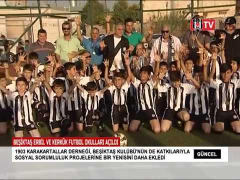 Beşiktaş Erbil ve Kerkük Futbol Okulları Açıdı