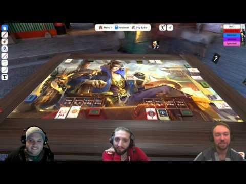 Foreign Fridays - The group plays Sanguosha on Tabletop Simulator