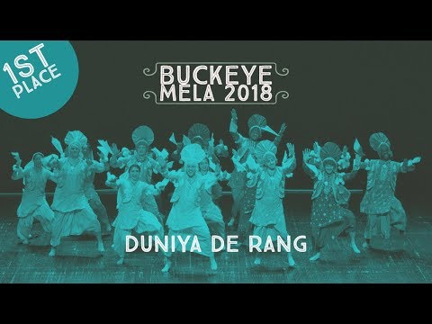 Duniya De Rang - First Place @ Buckeye Mela 2018