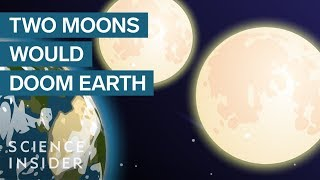 What Would Happen If Earth Had Two Moons