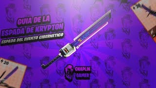 "KRIPTON'S ESPADA GUIDE ""ONE OF THE BEST SWORDS"" / FORTNITE SAVE THE WORLD"