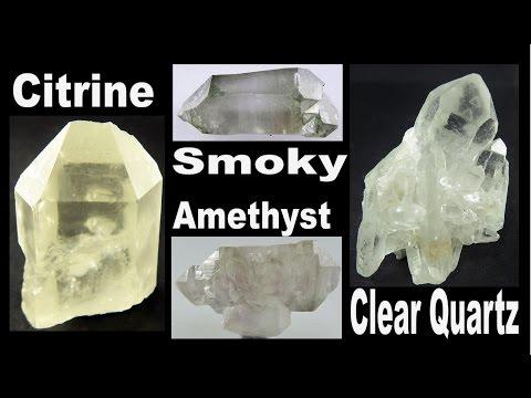 CRYSTAL HUNTING - Citrine, Amethyst, Smoky and Clear Quartz