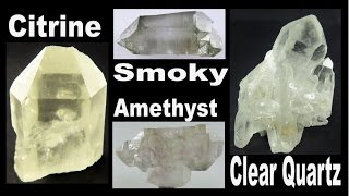 CRYSTAL HUNTING - Citrine, Amethyst, Smoky and Clear Quartz