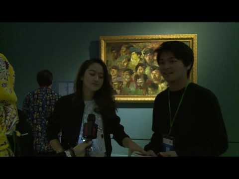 Keseruan Aldy CJR Dan Salsabilla Adriani Di Galeri Nasional Indonesia