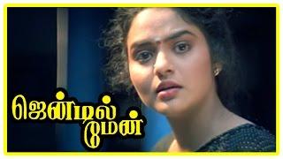 Gentleman Tamil Movie | Scenes | Arjun scolds Madhoo and refuses her love | Charan Raj