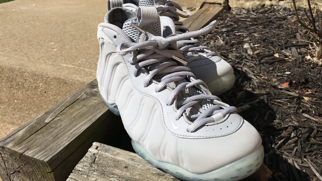 602b85171a773 Nike Foamposite Sole Icing and Cleaning - YouTube