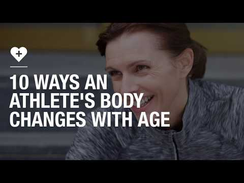 10 ways an athlete's body changes with age