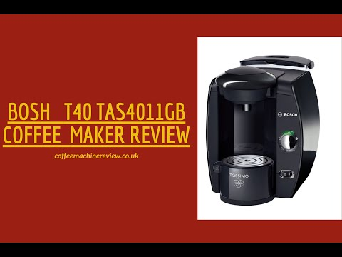 Bosh T40 TAS4011GB Coffee Maker Review - Best ever 2019 Buying Guide Review