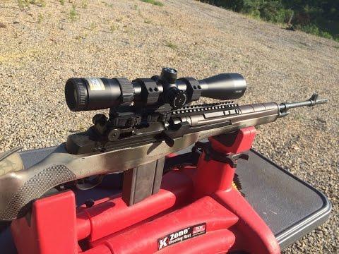 M1A Battle Rifle (Part 1) Nikon P308 Rifle Scope