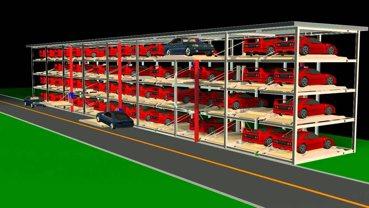 Automatic Parking System / Car Stacker: Lanway-Stacking ...