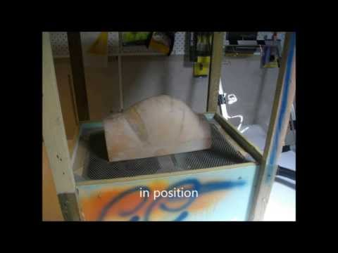 Vacuum forming RC Corby Starlet canopy