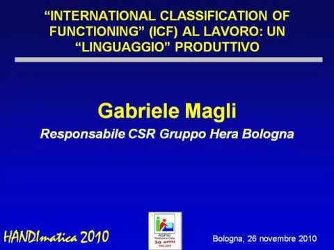 "HANDIMATICA 2010 - ""International Classification of Functioning"" al lavoro []"