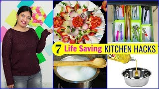 7 KITCHEN HACKS You Must Know  #MyMissAnand #CookWithNisha