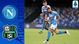 Napoli 2-0 Sassuolo | Il Napoli fa festa con Hysaj ed Allan | Serie A TIM