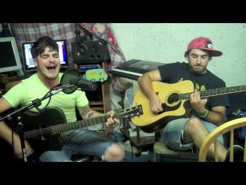 Harvey Danger - FLagpole Sitta Acoustic Cover (Kyle and Josh)