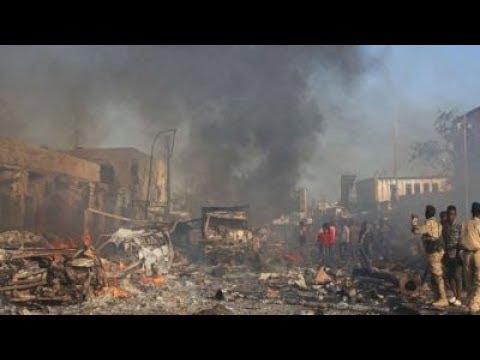 2nd Major BOMB ATTACK hits AFRICA Somalia 40 Dead Many Inj 2.24.18