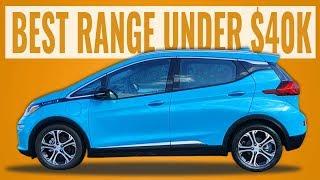 Best Electric Car Range Under $40K in 2020