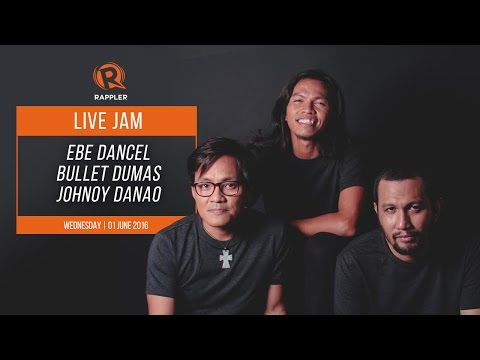 WATCH: Ebe Dancel, Johnoy Danao, Bullet Dumas perform live on Rappler