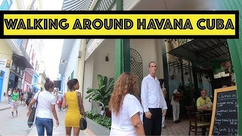 🔴 Walking around Havana Cuba - 2019 (with GoPro Camera)
