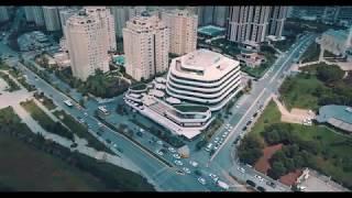 4K Istanbul / Turkey Ataşehir Bulvar216 Buildings