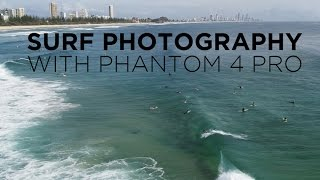Surf Photography - Chilled Burleigh Session with Phantom 4 Pro - 4 March 2017