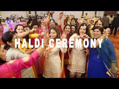 PUNJABI HALDI CELEBRATION !!!