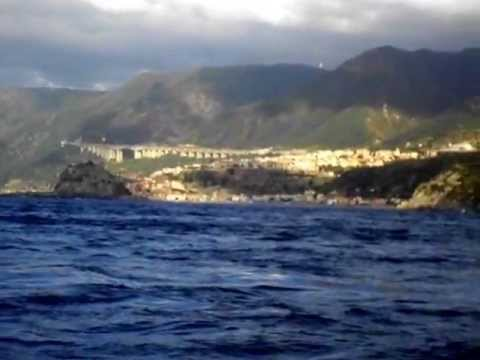 Italy from the Sea/Strait of Messina